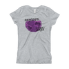Explore The World0029 Next Level 3710 Girl's The Princess Tee with Tear Away Label