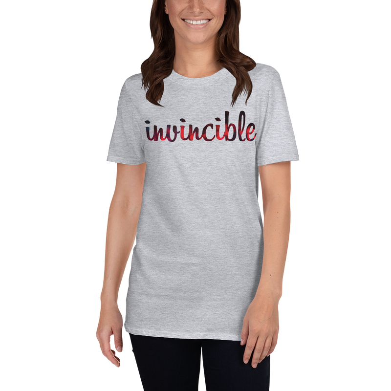 Invincible018 Gildan 64000 Unisex Softstyle T-Shirt with Tear Away Label