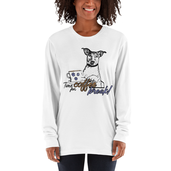 Its Coffee Time24 Long sleeve t-shirt