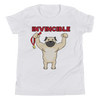 Invincible007 Bella + Canvas 3001Y Youth Short Sleeve Tee with Tear Away Label