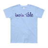 Invincible006 American Apparel 2201W Youth Fine Jersey Short Sleeve T-Shirt
