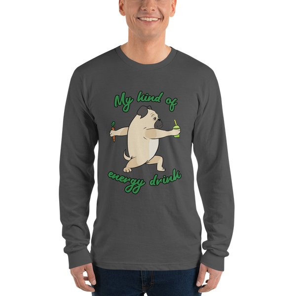 My kind of energy drink02 Gildan 2400 Ultra Cotton Long Sleeve T-Shirt