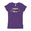 Explore The World002 Next Level 3710 Girl's The Princess Tee with Tear Away Label