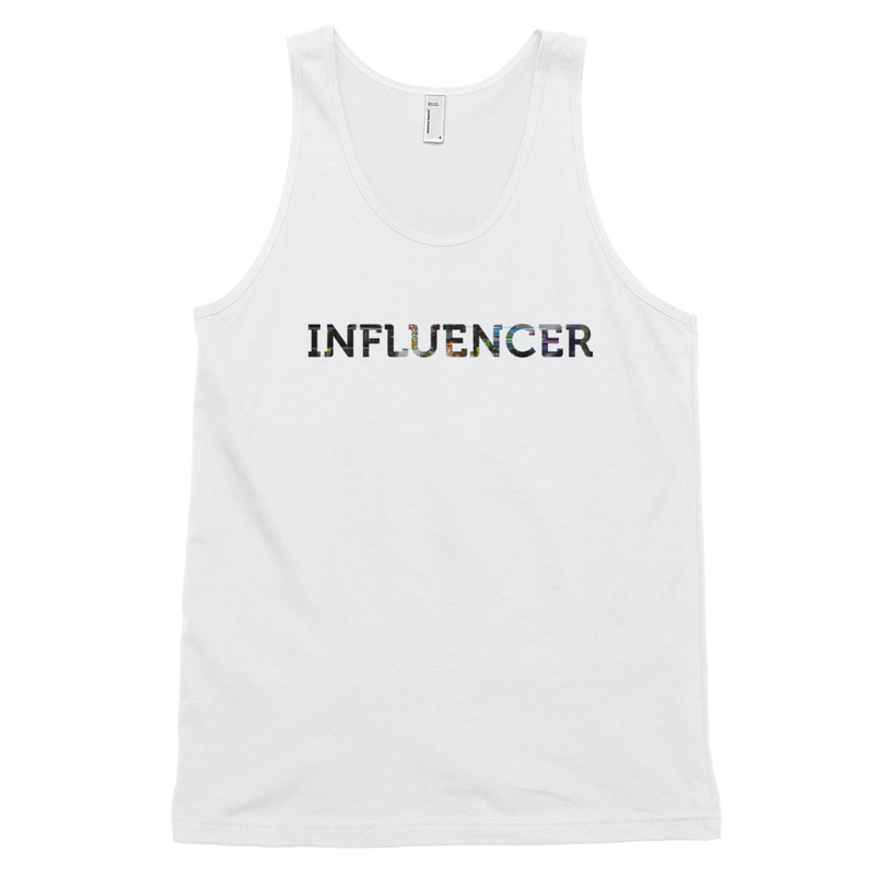 Influencer008 American Apparel 2408 Fine Jersey Tank Top Unisex