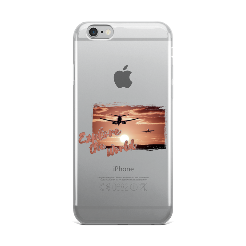 Explore The World0012 iPhone Case - libitalux
