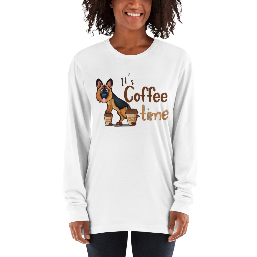 Its Coffee Time041 Long sleeve t-shirt