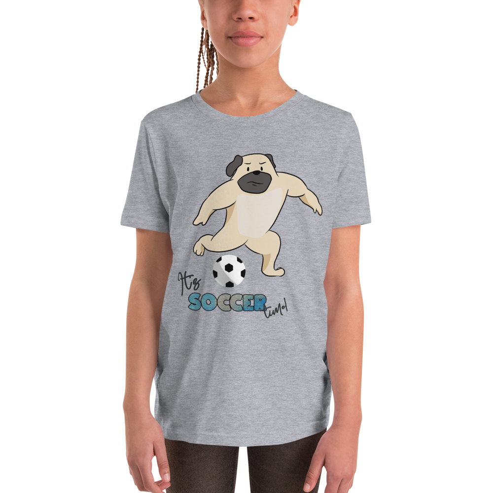 it's soccer time01 Youth Short Sleeve T-Shirt