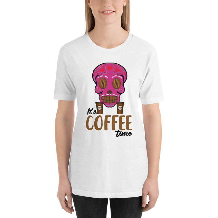 Its Coffee Time060 Short-Sleeve Unisex T-Shirt