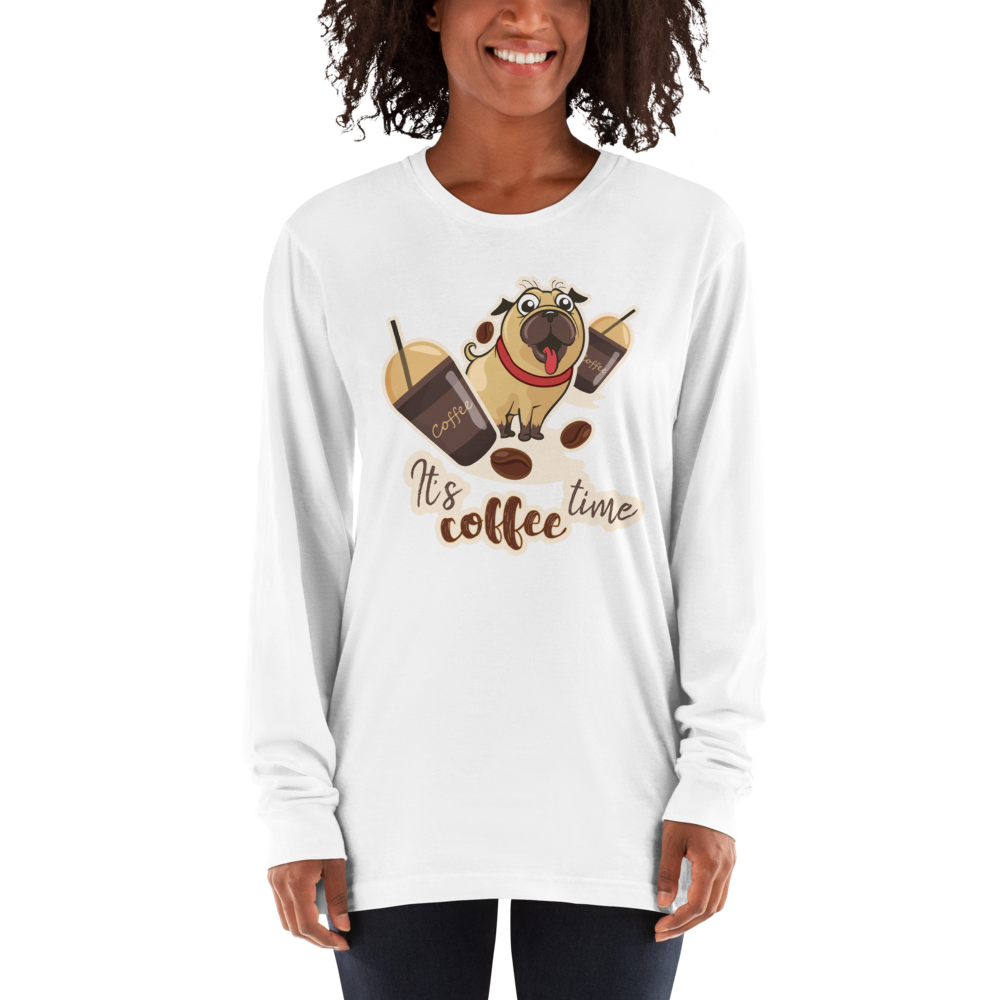 Its Coffee Time018 Long sleeve t-shirt