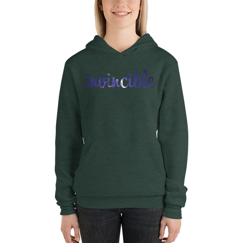 Invincible006 Bella + Canvas 3719 Unisex Fleece Pullover Hoodie