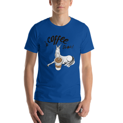 It's Coffee Time066 Bella + canvas 3001 unisex Jersey Style