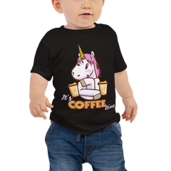 Its Coffee Time51 Baby Jersey Short Sleeve Tee