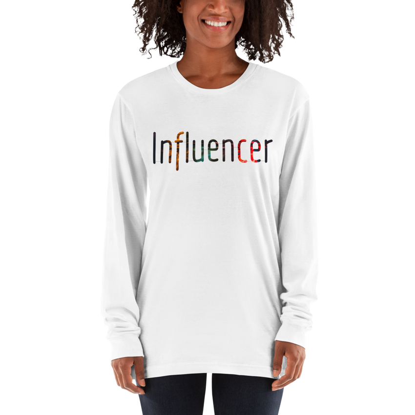 Influencer63 American Apparel 2007 Unisex Fine Jersey Long Sleeve T-Shirt Comfy style