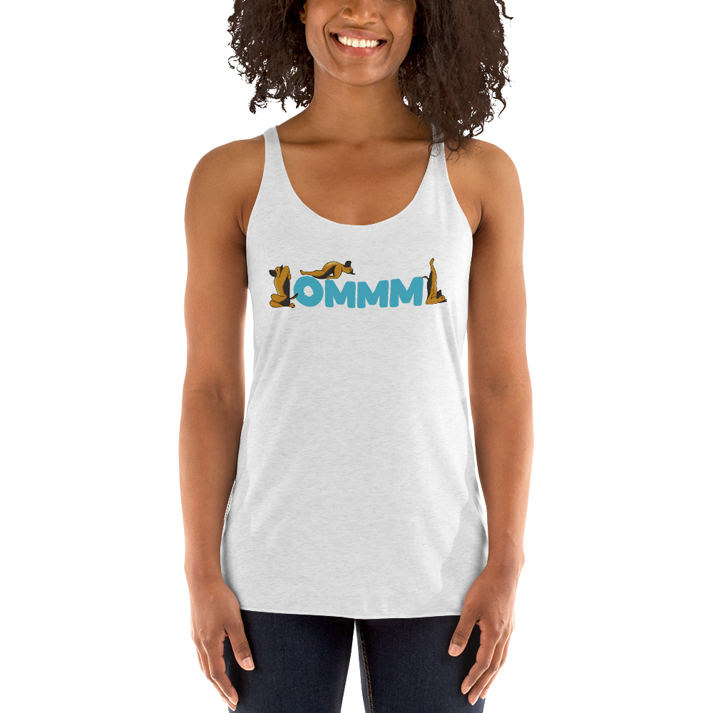 It's Yoga Time029 Next Level 6733 Ladies' Triblend Racerback Tank