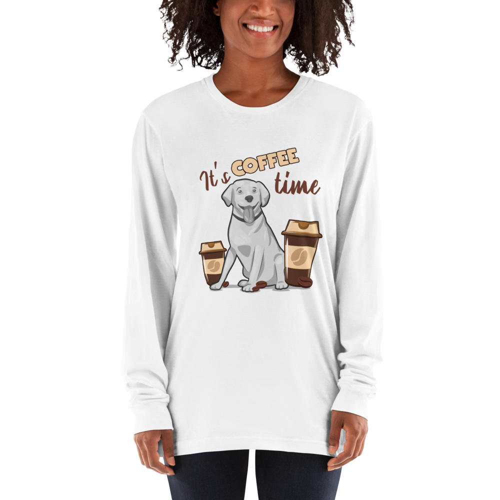 Its Coffee Time042 Long sleeve t-shirt