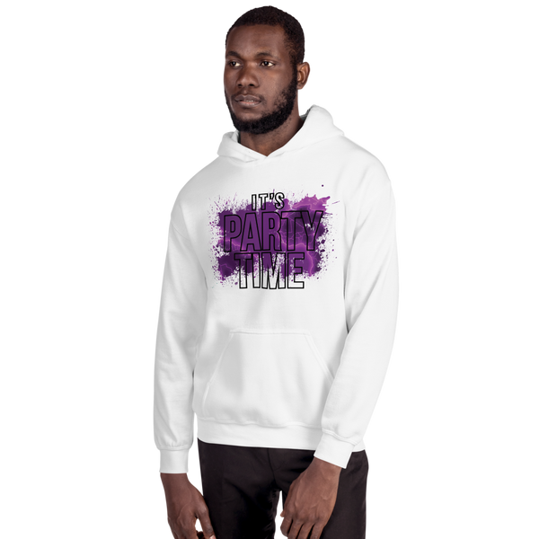 Its Party time07 Gildan 18500 Unisex Heavy Blend Hooded Sweatshirt