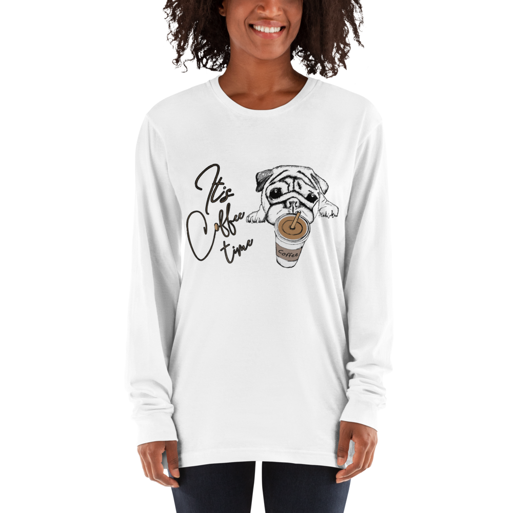Its Coffee Time056 Long sleeve t-shirt