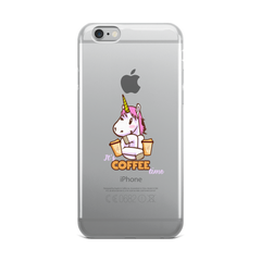 Its Coffee Time51 iPhone Case
