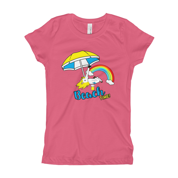It's Beach Time02 Girl's T-Shirt