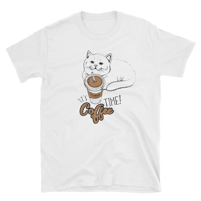 It's coffee time! Short-Sleeve Unisex T-Shirt