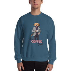 It's Coffee Time040 Gildan 18000 Unisex Heavy Blend Crewneck Sweatshirt