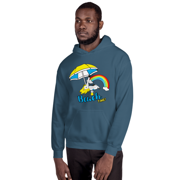 It's Beach Time02 Gildan 18500 Unisex Heavy Blend Hooded Sweatshirt