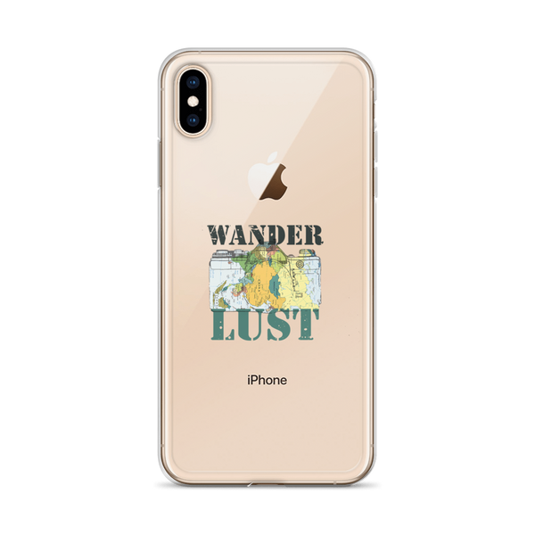 Wanderlust100 iPhone Case