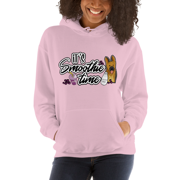 It's smoothie time04 Gildan 18500 Unisex Heavy Blend Hooded Sweatshirt Heavy blend