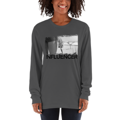 Influencer62 American Apparel 2007 Unisex Fine Jersey Long Sleeve T-Shirt Comfy style