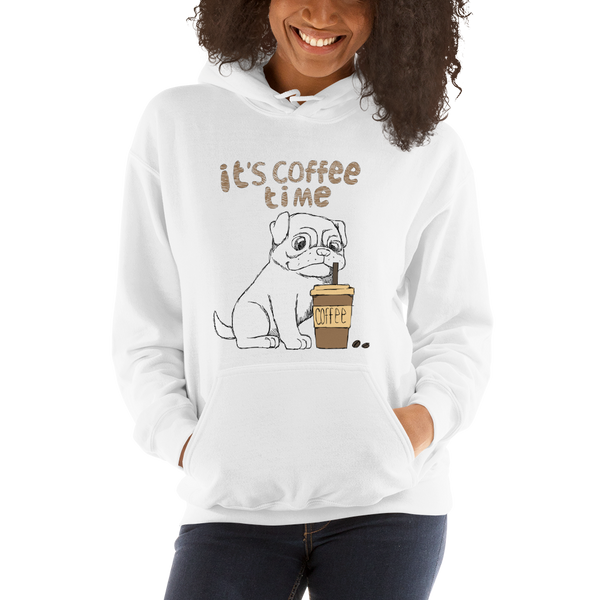Its Coffee Time054 Hooded Sweatshirt