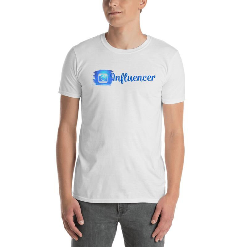 Influencer00111 Gildan 64000 Unisex Softstyle T-Shirt with Tear Away Label