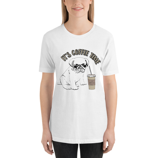 Its Coffee Time059 Short-Sleeve Unisex T-Shirt