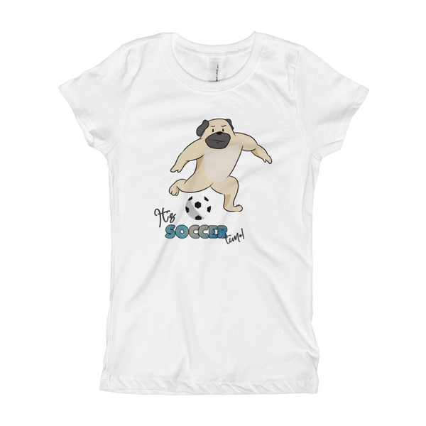 it's soccer time01 Girl's T-Shirt