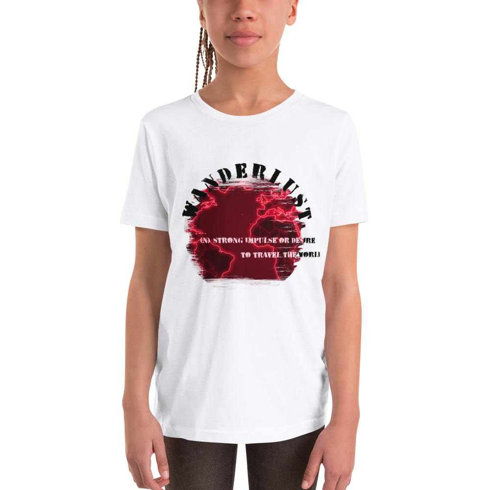 Wanderlust113 Youth Short Sleeve T-Shirt