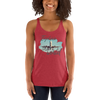 Explore The World001 Next Level 6733 Ladies' Triblend Racerback Tank