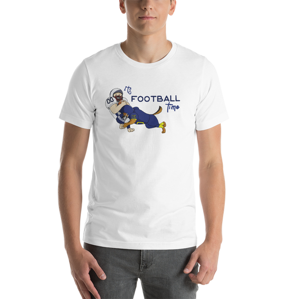 It's Football Time14 Bella + canvas 3001 unisex  Jersey Style