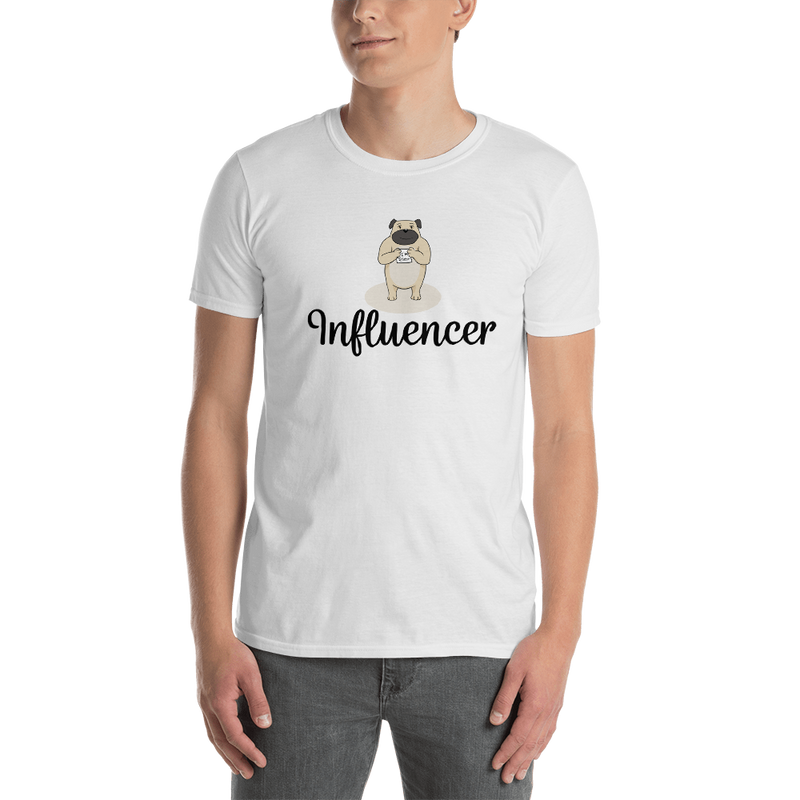 Influencer0121 Gildan 64000 Unisex Softstyle T-Shirt with Tear Away Label