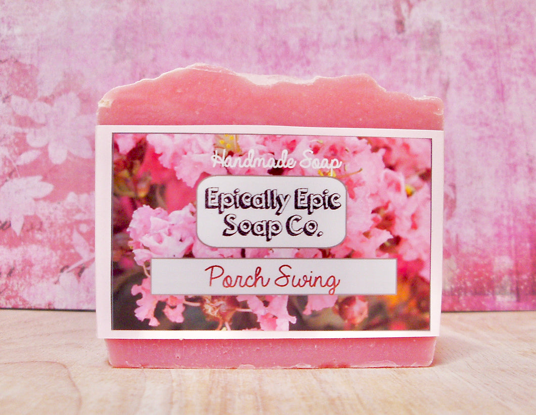 Porch Swing Cold Process Soap - Vegan Handmade Soap