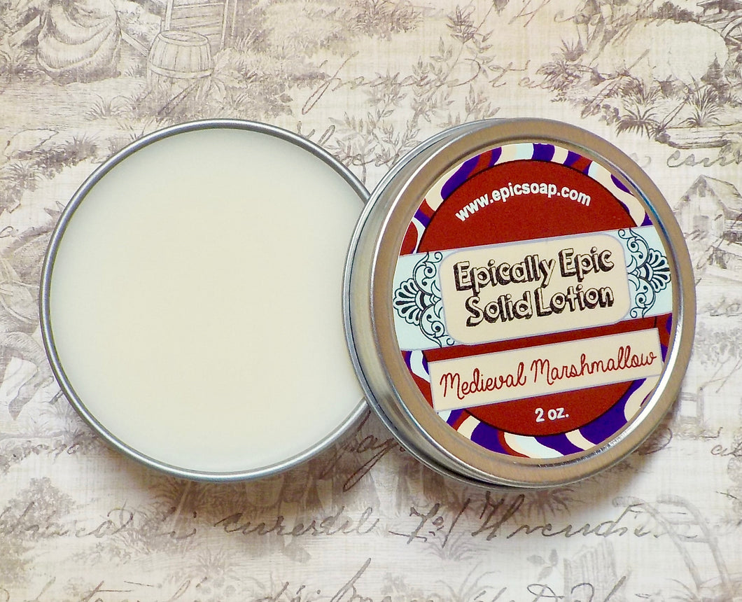 Medieval Marshmallow Many Purpose Solid Lotion - Fall Collection 2020 New Scent