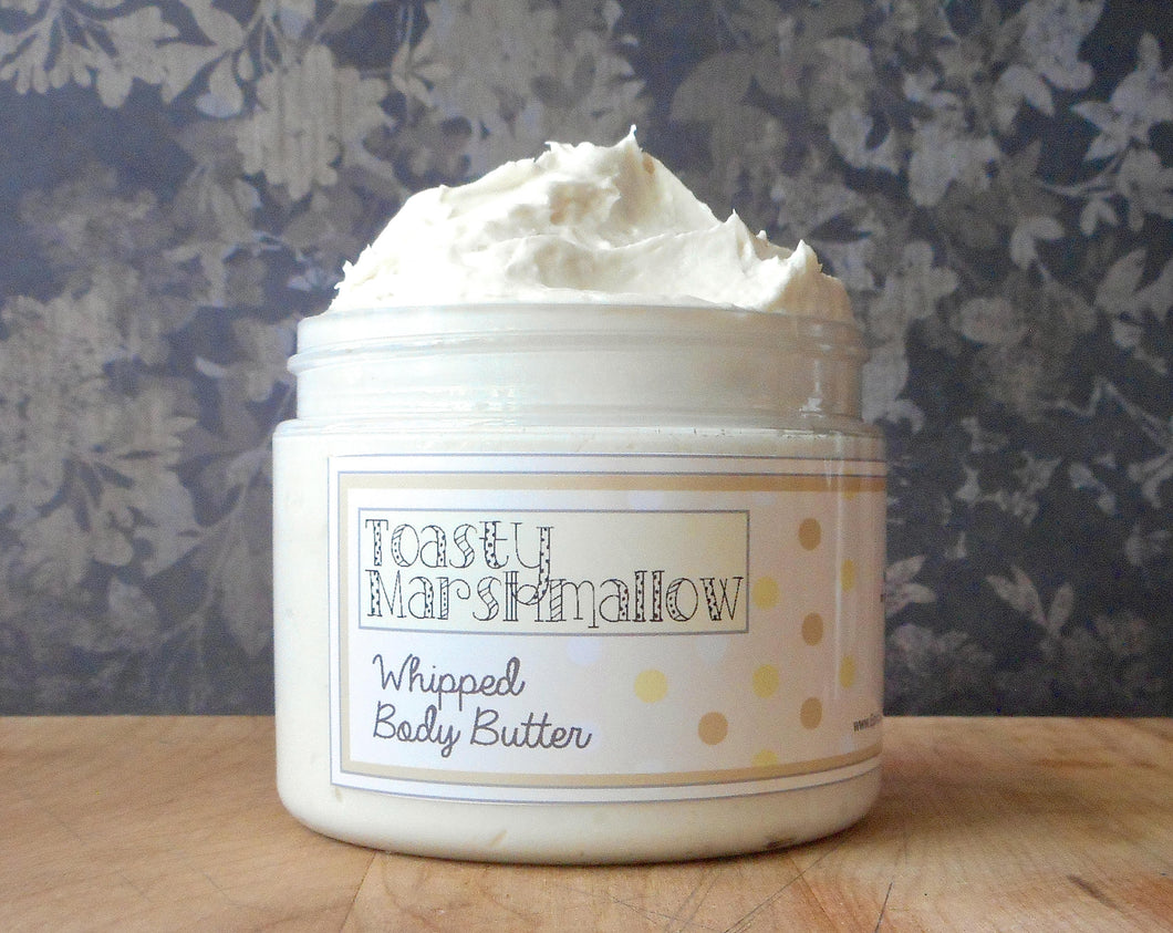 Toasty Marshmallow Whipped Body Butter - Limited Edition Fall Collection Scent