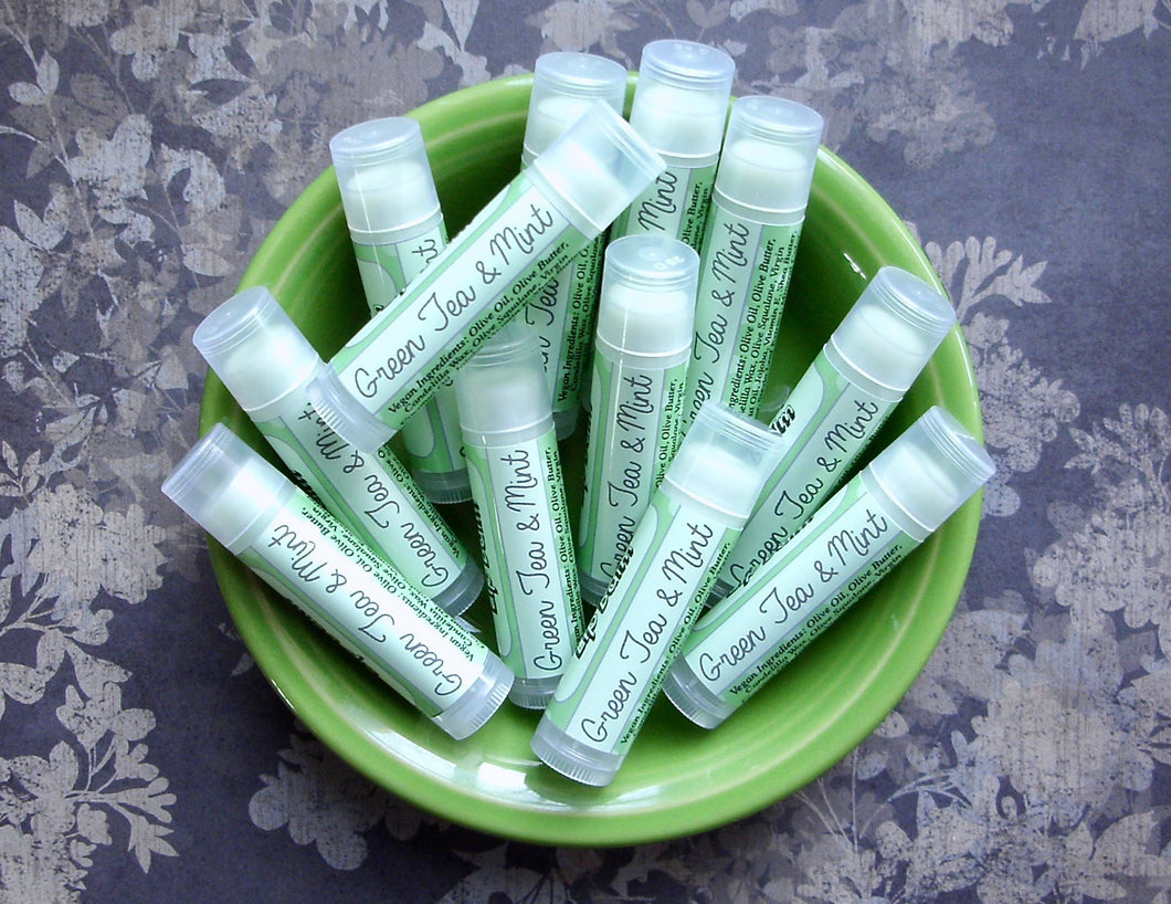 Green Tea & Mint Epic Vegan Lip Vegan Balm