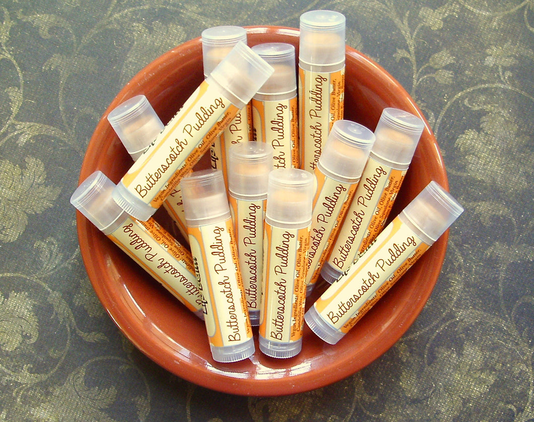 Butterscotch Pudding Epic Vegan Lip Balm - Fall Collection Flavor