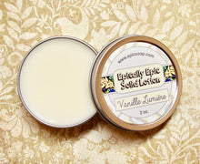 Load image into Gallery viewer, Vanille Lumiere Many Purpose Solid Lotion - Limited Edition Fall Collection Scent