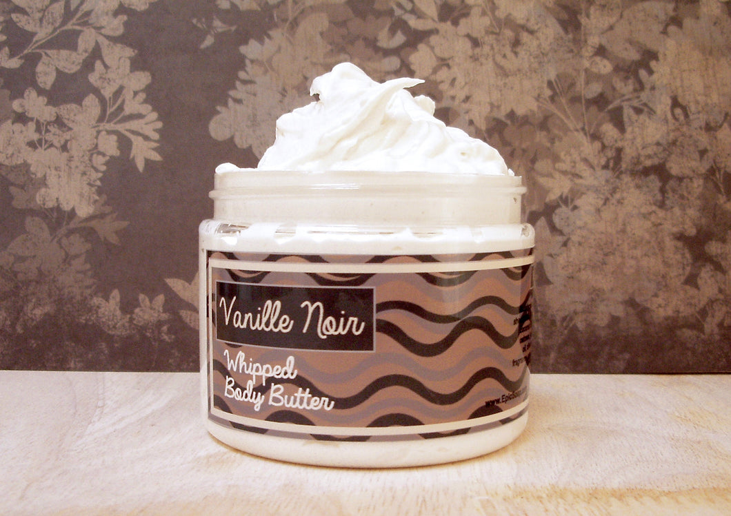 Vanille Noir Whipped Body Butter - Limited Edition Fall Collection Scent