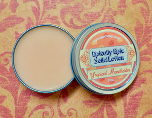 Tropical Manchester Many Purpose Solid Lotion - Limited Edition British Baking Collection Part 1 Scent