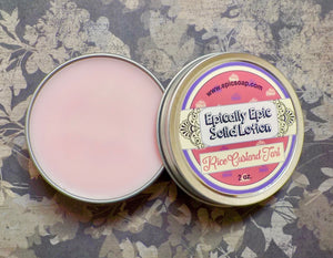 Rice Custard Tart Many Purpose Solid Lotion - Limited Edition British Baking Collection Part 1 Scent