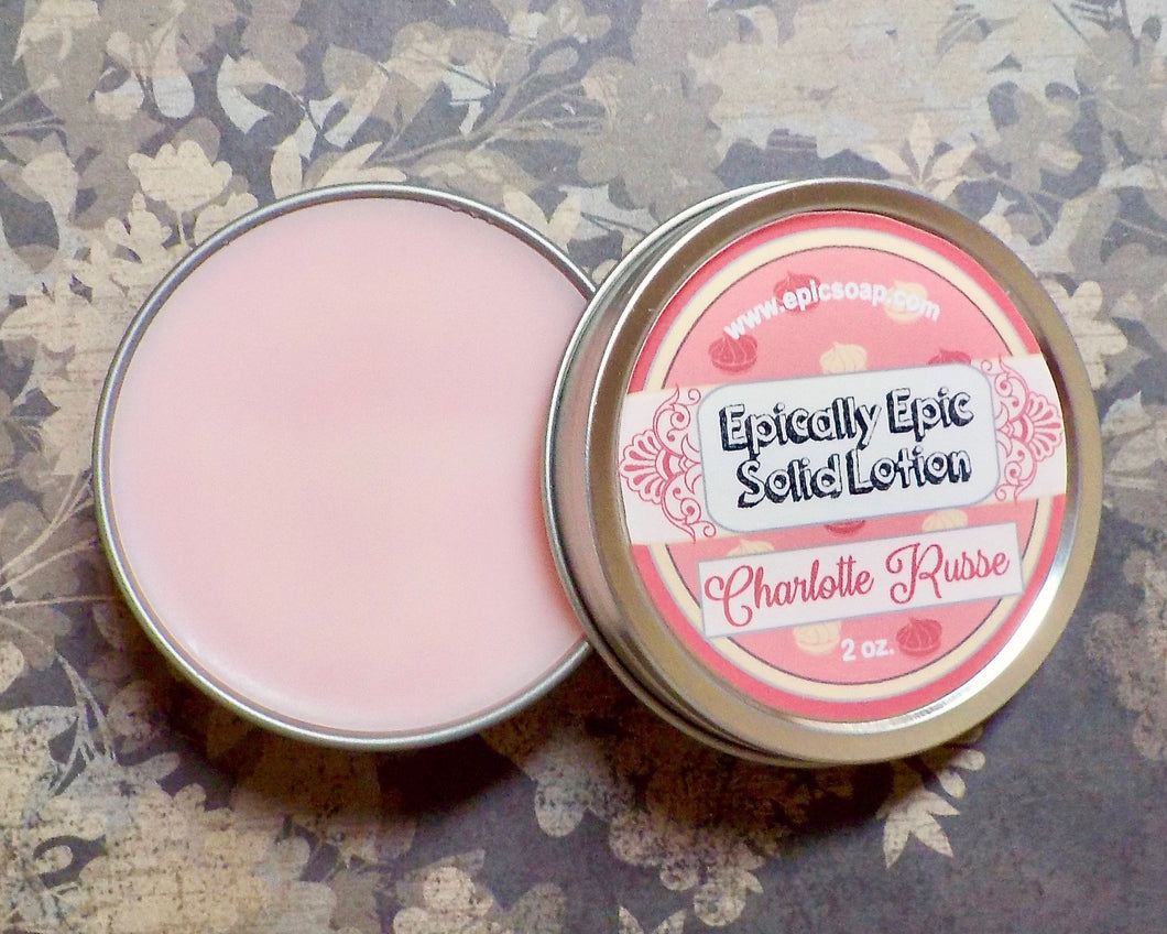 Charlotte Russe Many Purpose Solid Lotion - Limited Edition British Baking Collection Part 1 Scent