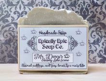 Load image into Gallery viewer, Mr. Darcy's Steamy Lake Scene Cold Process Soap - Vegan Handmade Soap - British Baking Collection Part 1