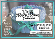 Load image into Gallery viewer, Bubble Gum Mint Cold Process Soap - Vegan Handmade Soap - British Baking Collection Part 1