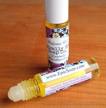 Load image into Gallery viewer, Perfume oil in a roll on bottle - 7ml - Choose a Scent from the British Baking Collection Part 2